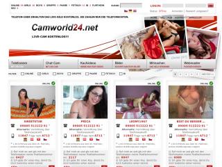 Telefonsex mit Cam auf Camworld24.net
